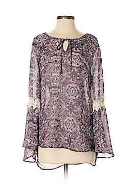 Como Vintage Long Sleeve Blouse Size S