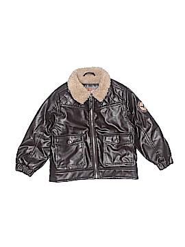 Hawke & Co. Leather Jacket Size 4T
