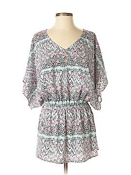 Tori Richard Short Sleeve Blouse Size XS