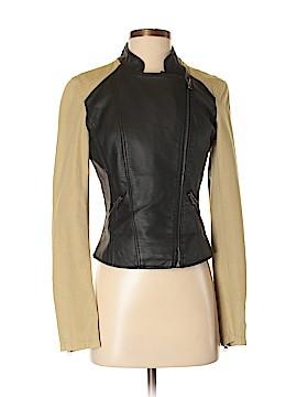 TCEC Faux Leather Jacket Size S