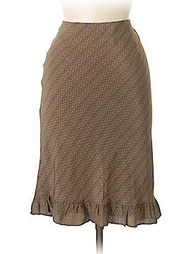 Max Studio Silk Skirt Size M