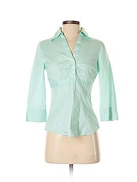 G.H. Bass & Co. 3/4 Sleeve Button-Down Shirt Size XS