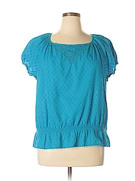 IZOD Short Sleeve Top Size 1X (Plus)