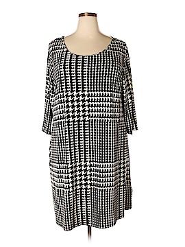 Daisy Fuentes Casual Dress Size 2X (Plus)