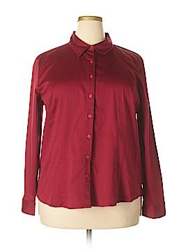Van Heusen Studio Long Sleeve Button-Down Shirt Size XXL