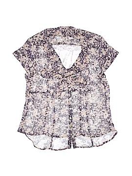 Quintessential Short Sleeve Blouse Size L