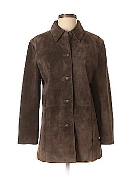 David Brooks Leather Jacket Size S