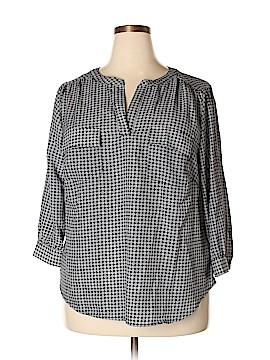 Kenar 3/4 Sleeve Blouse Size 1X (Plus)