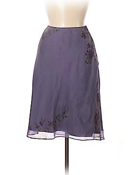 INC International Concepts Silk Skirt Size 8 (Petite)