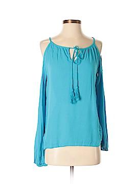 Santiki Long Sleeve Blouse Size S