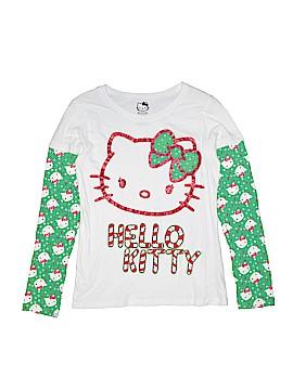 Hello Kitty Long Sleeve T-Shirt Size 14 - 16
