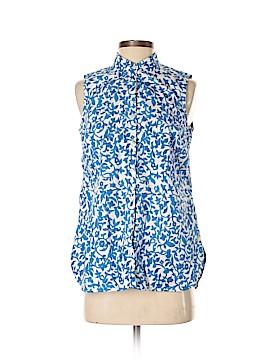 Lands' End Sleeveless Button-Down Shirt Size 4