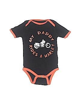 Harley Davidson Short Sleeve Onesie Size 9-12 mo