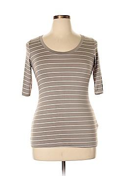 Green Envelope 3/4 Sleeve T-Shirt Size L