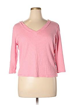 Evan Picone 3/4 Sleeve T-Shirt Size XL