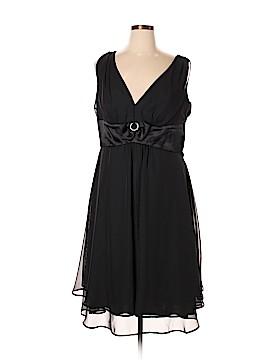 Connected Apparel Cocktail Dress Size 14 (Plus)