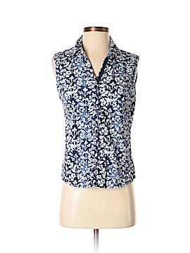 DressBarn Sleeveless Button-Down Shirt Size S