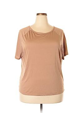 IMAN Short Sleeve Top Size 1X (Plus)