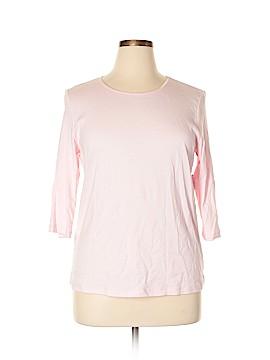 Cj Banks 3/4 Sleeve T-Shirt Size 14