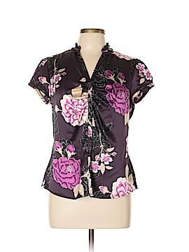 Worthington Short Sleeve Blouse Size 12
