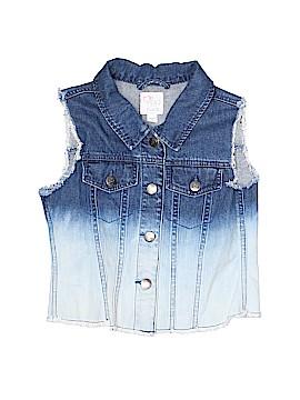 The Children's Place Denim Vest Size 14 - 16