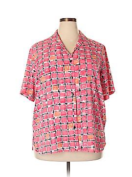 Liz Baker Short Sleeve Blouse Size 20W (Plus)
