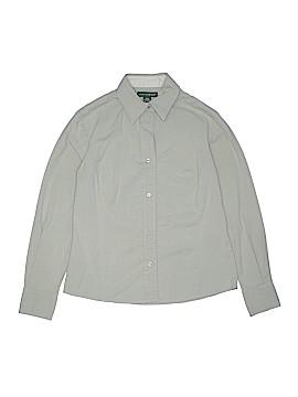 Mountain Lake Long Sleeve Button-Down Shirt Size S