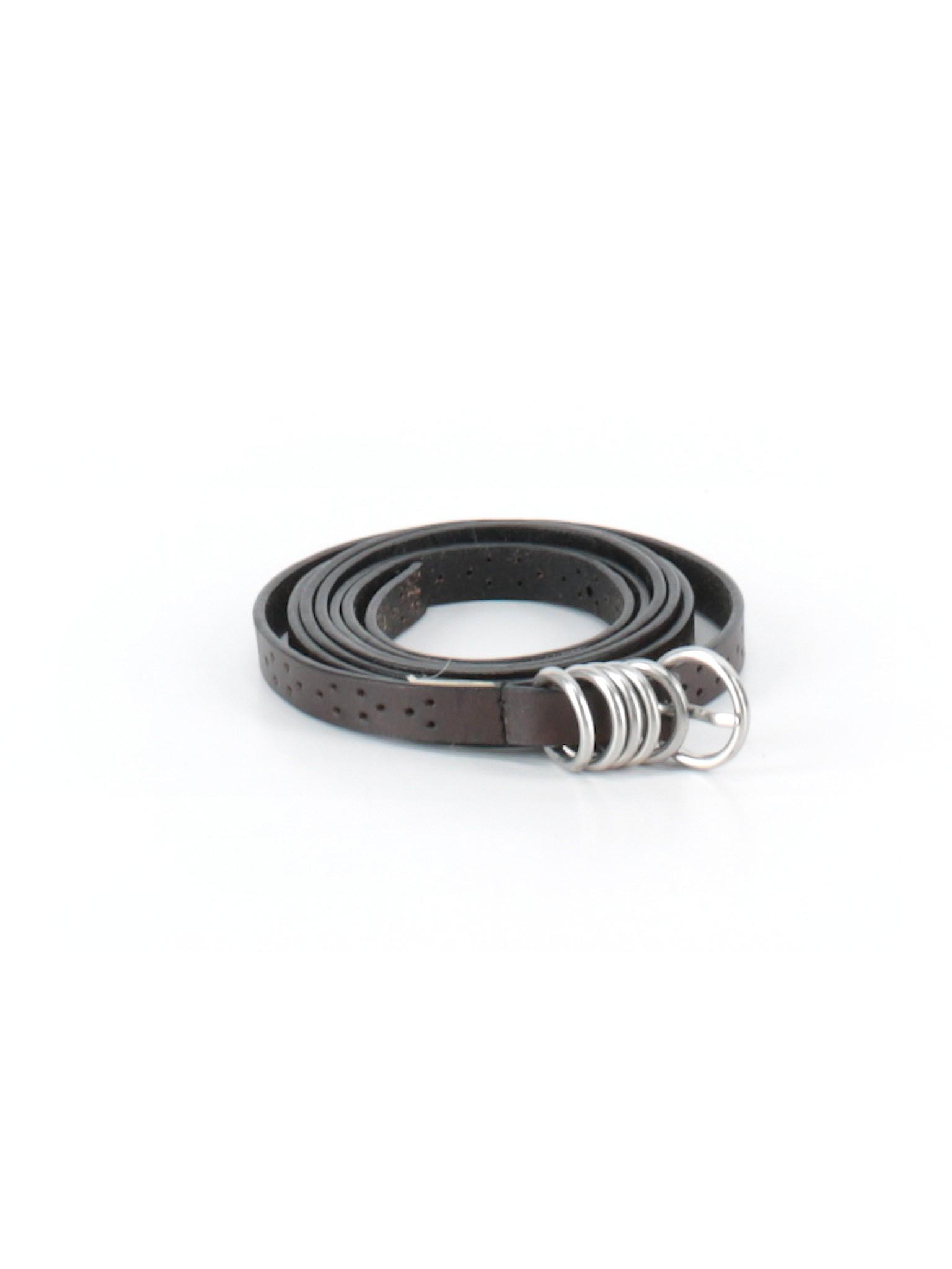 c57b8d0a48 Ann Taylor LOFT 100% Leather Solid Brown Leather Belt Size M - 72 ...