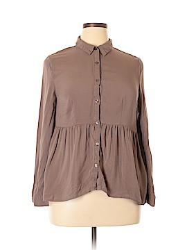 Bongo Long Sleeve Blouse Size XL