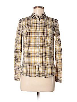 Lark & Wolff Long Sleeve Button-Down Shirt Size S