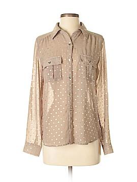 Monteau Long Sleeve Blouse Size S