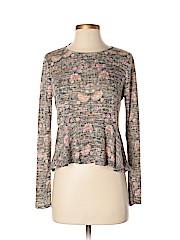 LC Lauren Conrad Women Long Sleeve Top Size XS