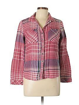 Blue Rain Long Sleeve Button-Down Shirt Size M