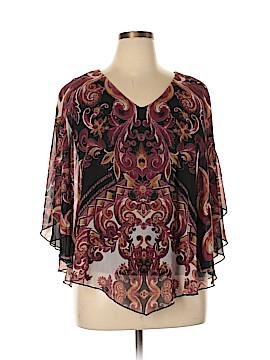 CB 3/4 Sleeve Blouse Size L
