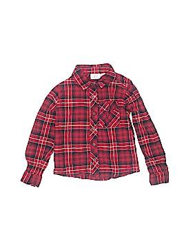 Kids Korner Long Sleeve Button-Down Shirt Size 4