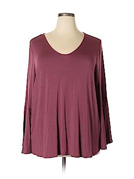 Cupio Long Sleeve Top Size 2X (Plus)