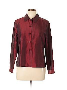 Petite Sophisticate Long Sleeve Blouse Size 12
