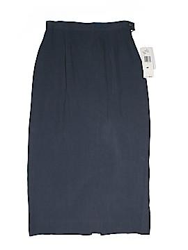 Rena Rowan Silk Skirt Size 4 (Petite)
