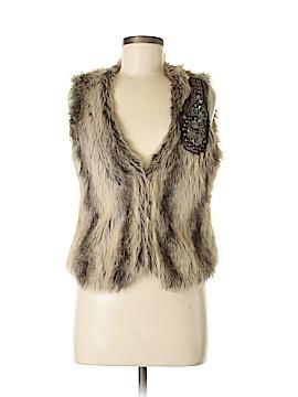 Daytrip Faux Fur Vest Size M