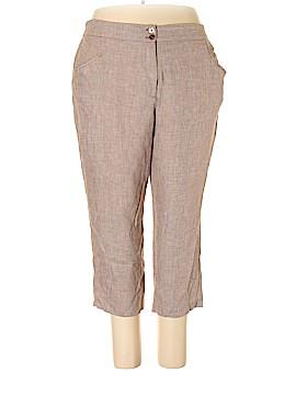 Maggie Barnes Linen Pants Size 24W (Plus)