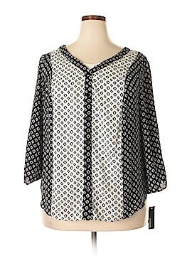 B-Design 3/4 Sleeve Blouse Size 1X (Plus)