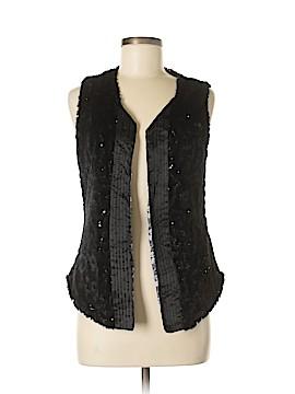 BKE Faux Fur Vest Size M