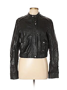 LC Lauren Conrad Faux Leather Jacket Size L