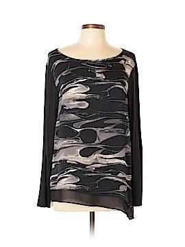 DKNYC Long Sleeve Blouse Size L