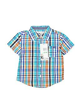 Kids Short Sleeve Button-Down Shirt Size 18 mo