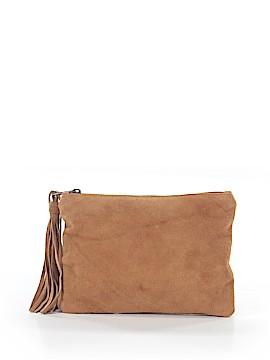 Merona Leather Clutch One Size