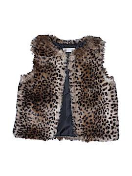 H&M Faux Fur Vest Size 8 - 9
