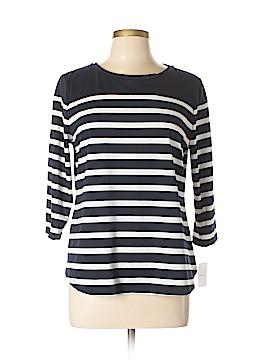 Croft & Barrow 3/4 Sleeve T-Shirt Size L (Petite)
