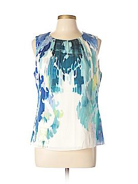 Elie Tahari Sleeveless Silk Top Size L