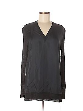 Rag & Bone Long Sleeve Silk Top Size M